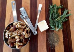 Ingredients for mixed nut recipe