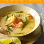 Thai Coconut Shrimp Soup orange pin