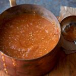 Tomato Bisque in pot