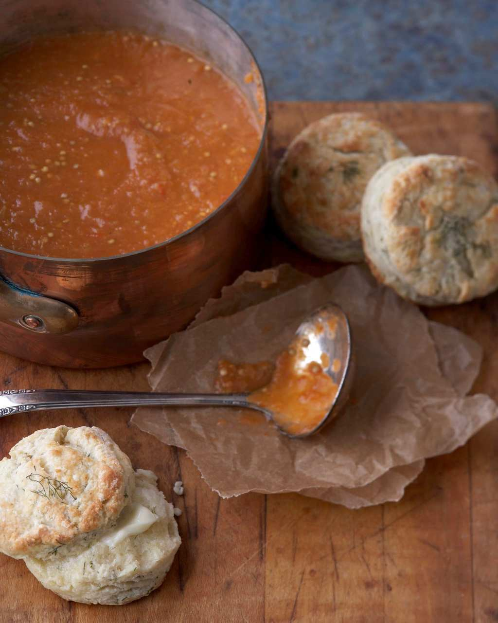 Roasted Tomato and Eggplant Bisque
