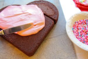 Better Recipes Valentine's Heart Cake
