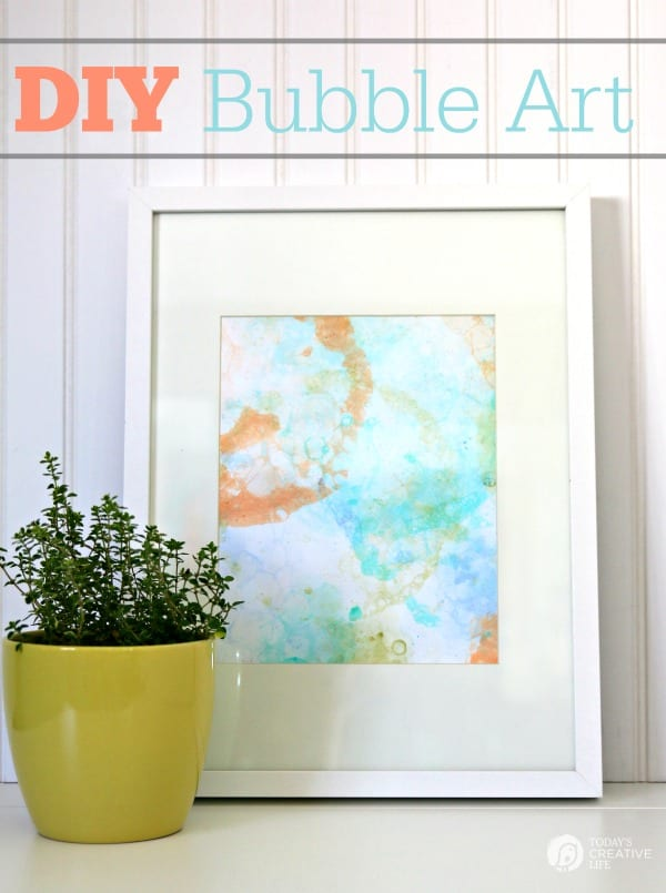 Today's Creative Life Framed Bubble Art