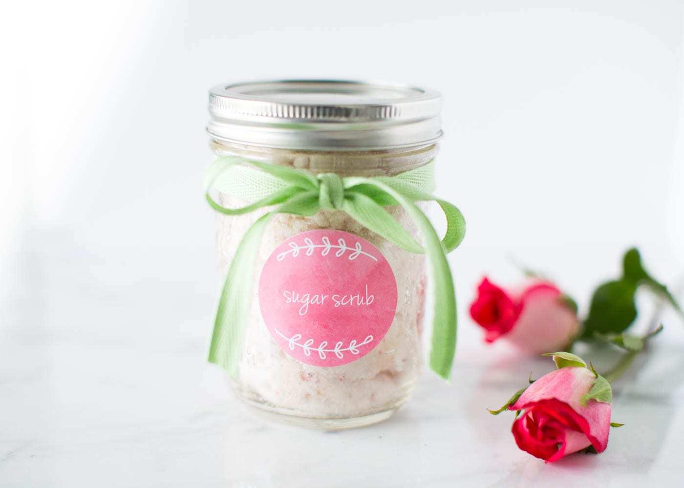 I Heart Naptime Valentines Vanilla Sugar Scrub