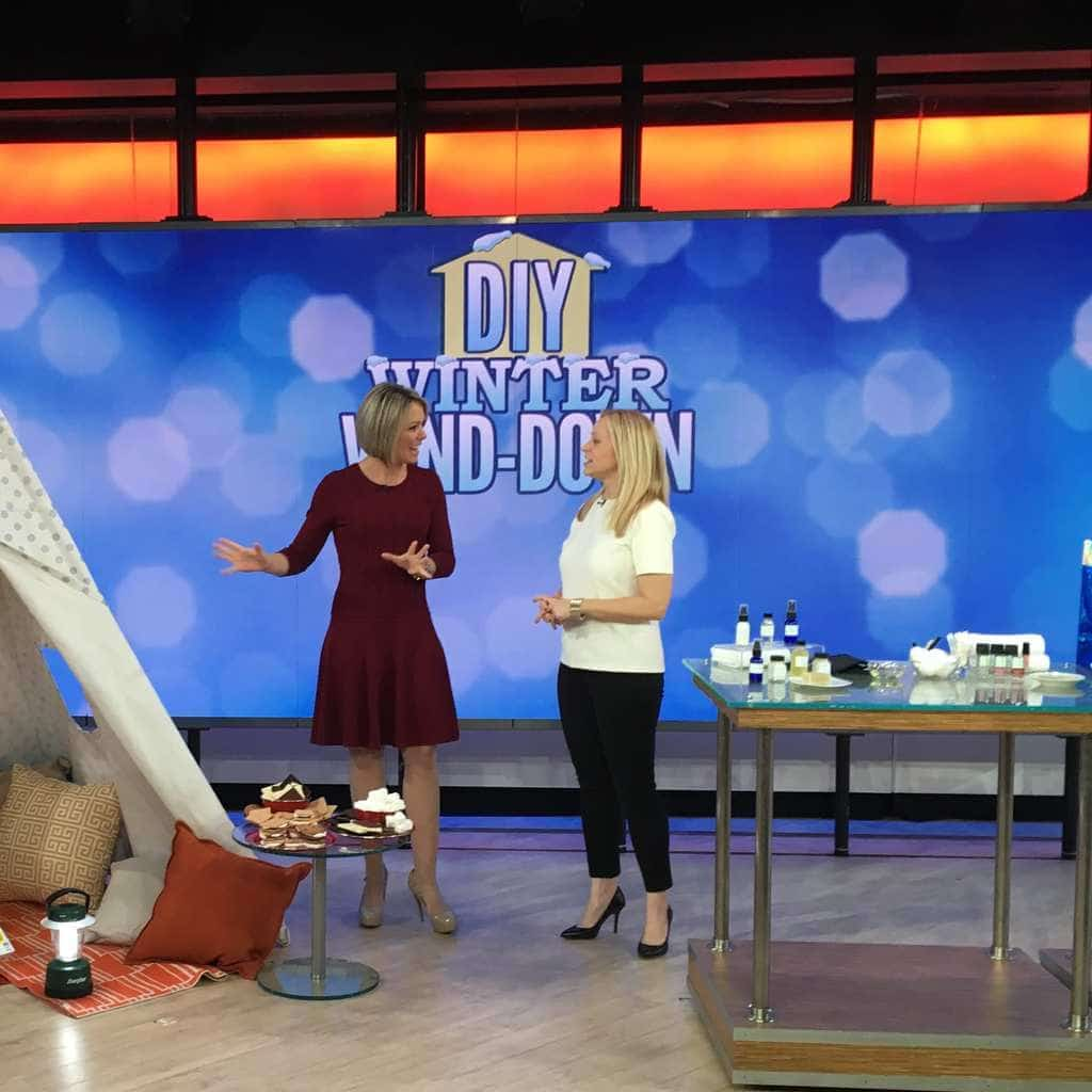 Tara Bench on the Today Show: How to beat cabin fever