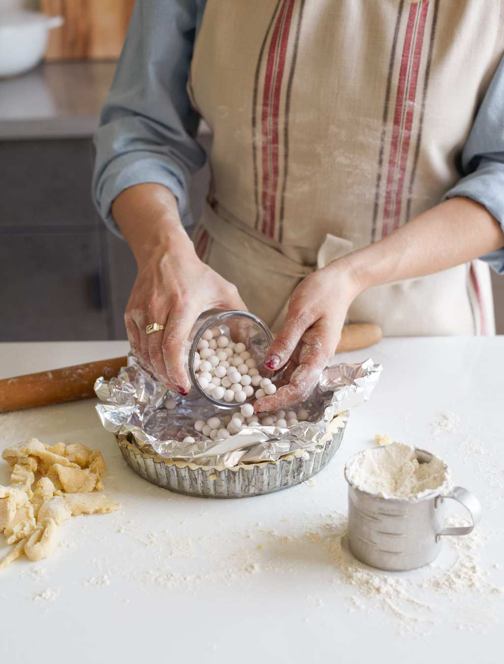 Making Basic Tart Crust