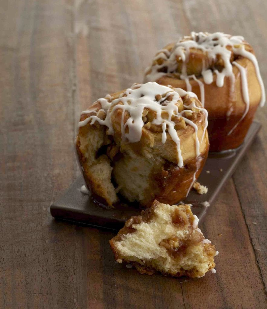 Maple Walnut Sticky Buns