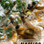 nachos for a crowd close up pin