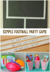 Play Party Plan Super Bowl Football Party Game