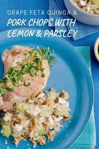 pork chops with quinoa pin