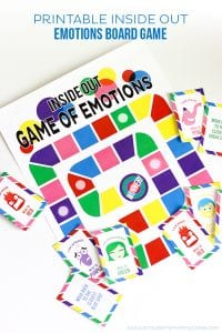 Strawberry Mommycakes Printable Inside Out Emotions Board Game product image
