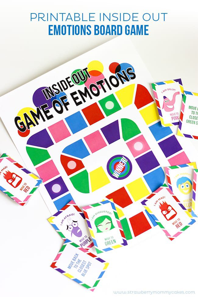 Strawberry Mommycakes Printable-Inside-Out-Emotions-Board-Game-3