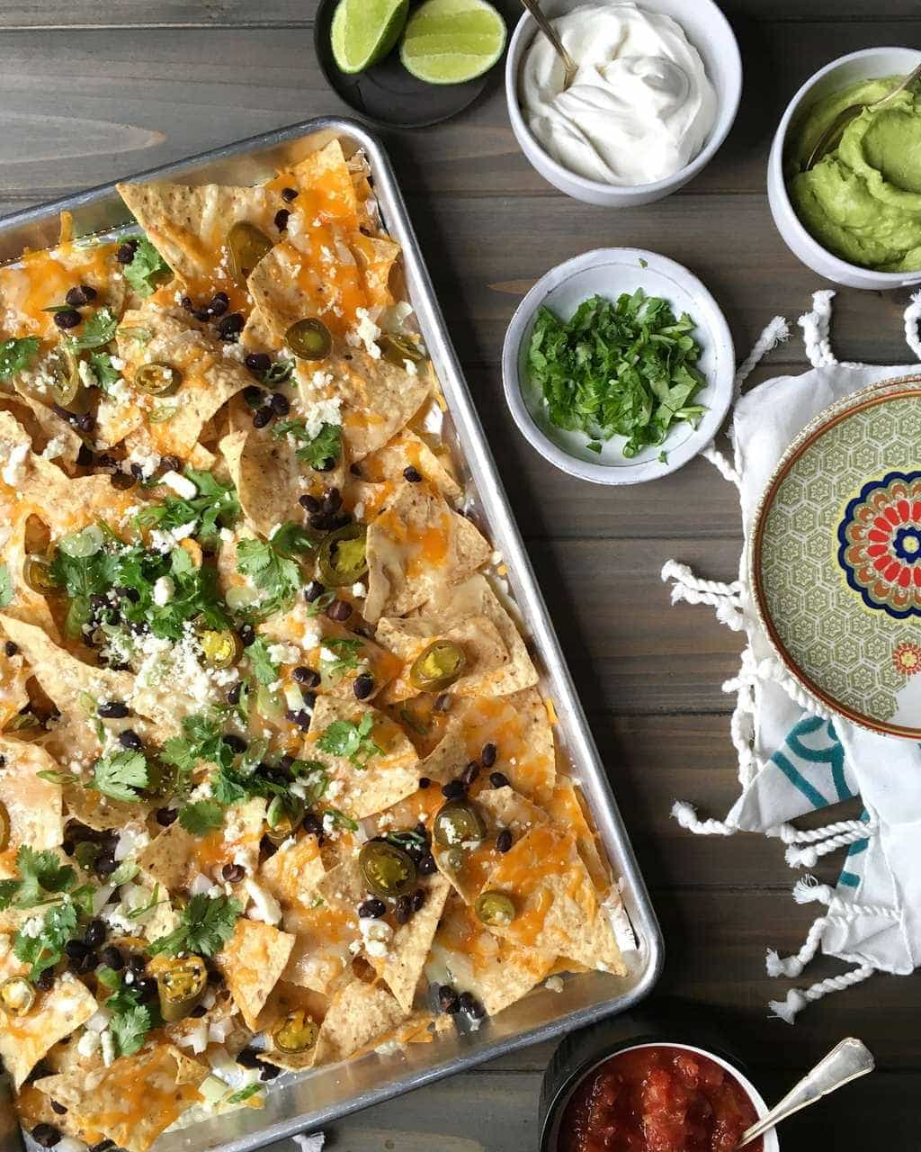 Nachos For A Party Crowd