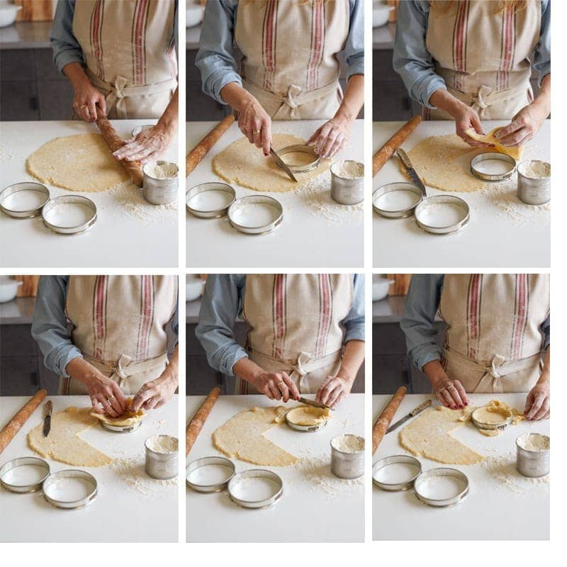 Basic Tart Crust Process
