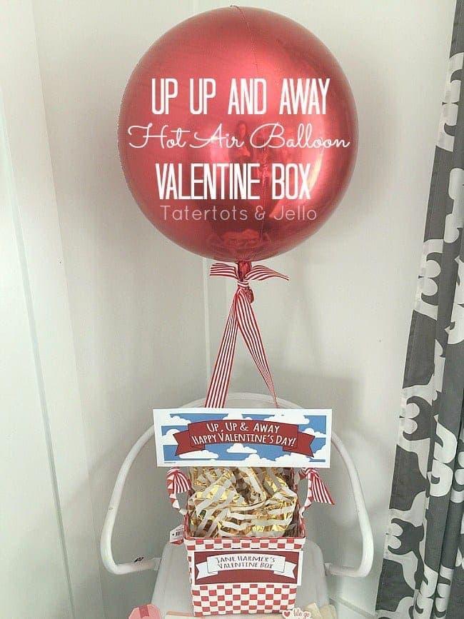 Tatertots and Jello Valentines Box