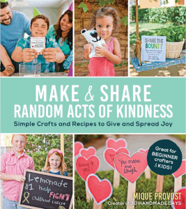 Thirty Handmade Days Make and Share Random Acts of Kindness book cover