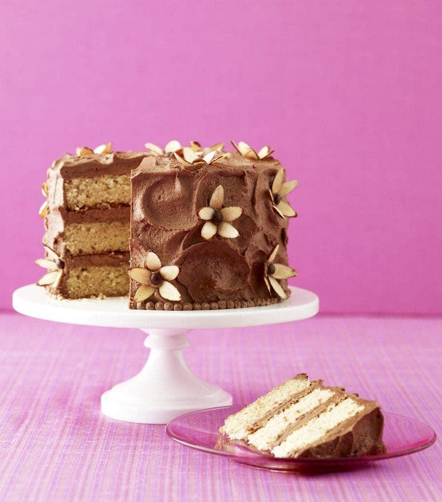 Almond Flower Cake Tarateaspoon