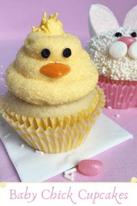Baby Chick Cupcake Pin