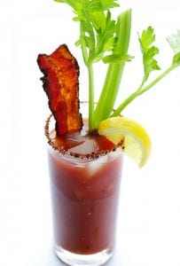Peppered Bacon Bloody Mary recipe image