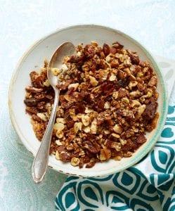 Crunchy Bacon Granola bowl