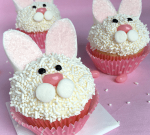 Easter Chick Cupcake Toppers