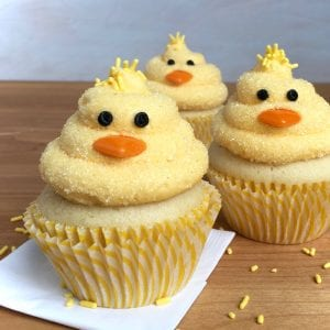 Feature recipe image of Chick Cupcakes