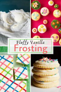 Fluffy Vanilla Frosting uses pin