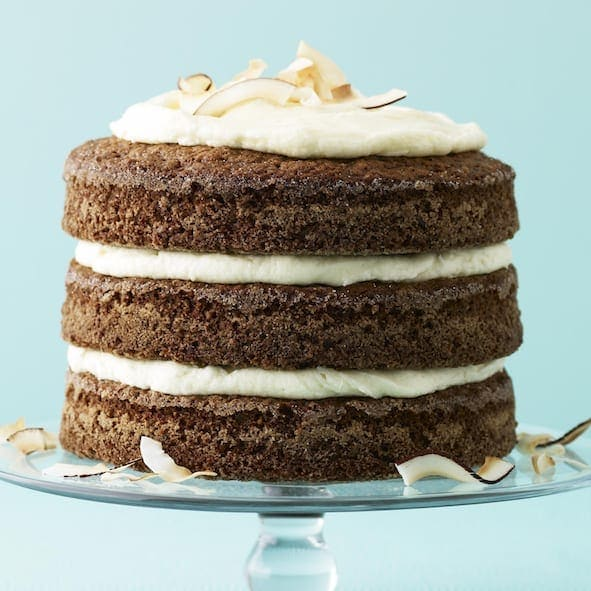 If you like carrot cake, you'll love Ginger-Coconut Carrot Cake. The extra hit of spice and the gorgeous tall layers make this simple cake spectacular.