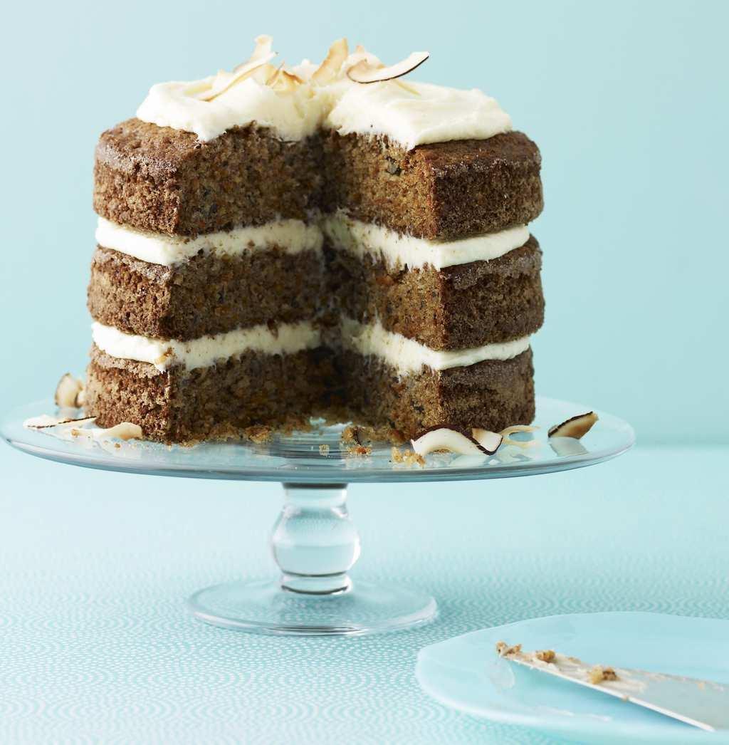 Ginger-Coconut Carrot Cake