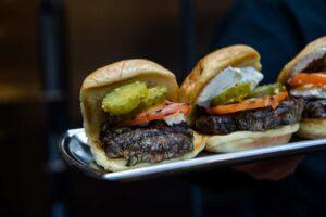 James Beard Foundation winner blended burger by High Acheson