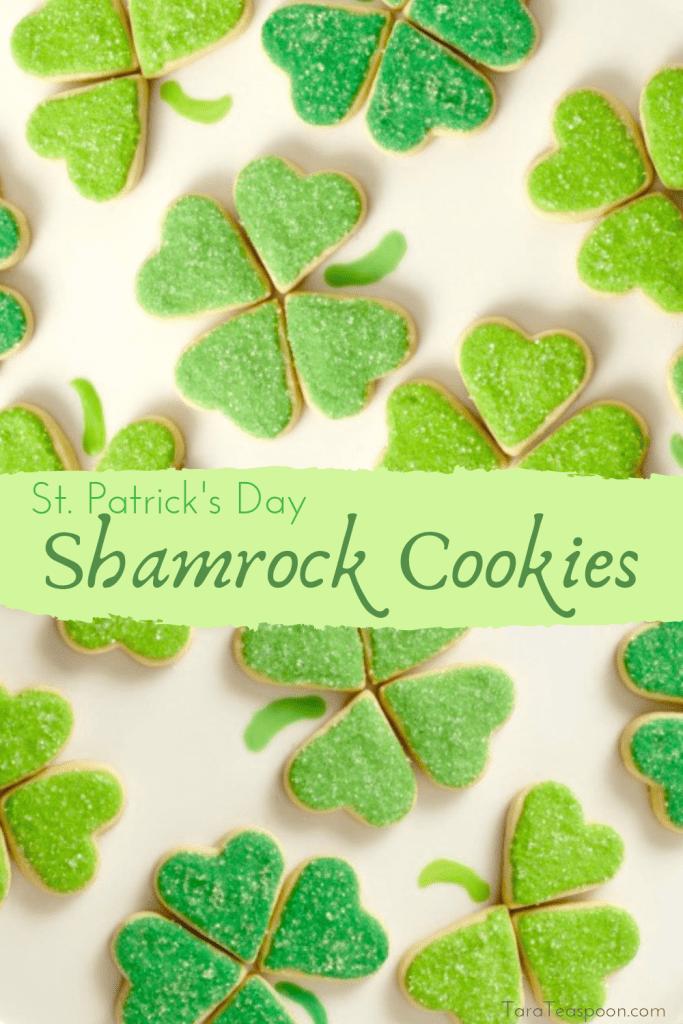 Make Shamrock Cookies pin