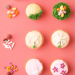 How to spring cupcakes pin