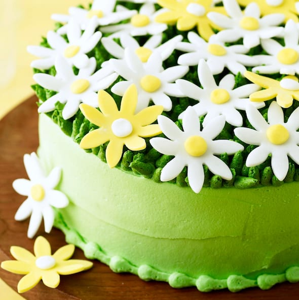 Absolutely Perfect Spring Daisy Cake • Best Cakes