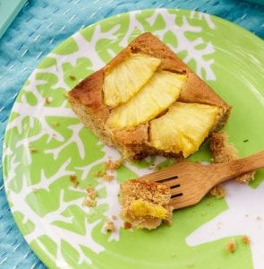 Ginger Pineapple Snack Cake feature recipe image