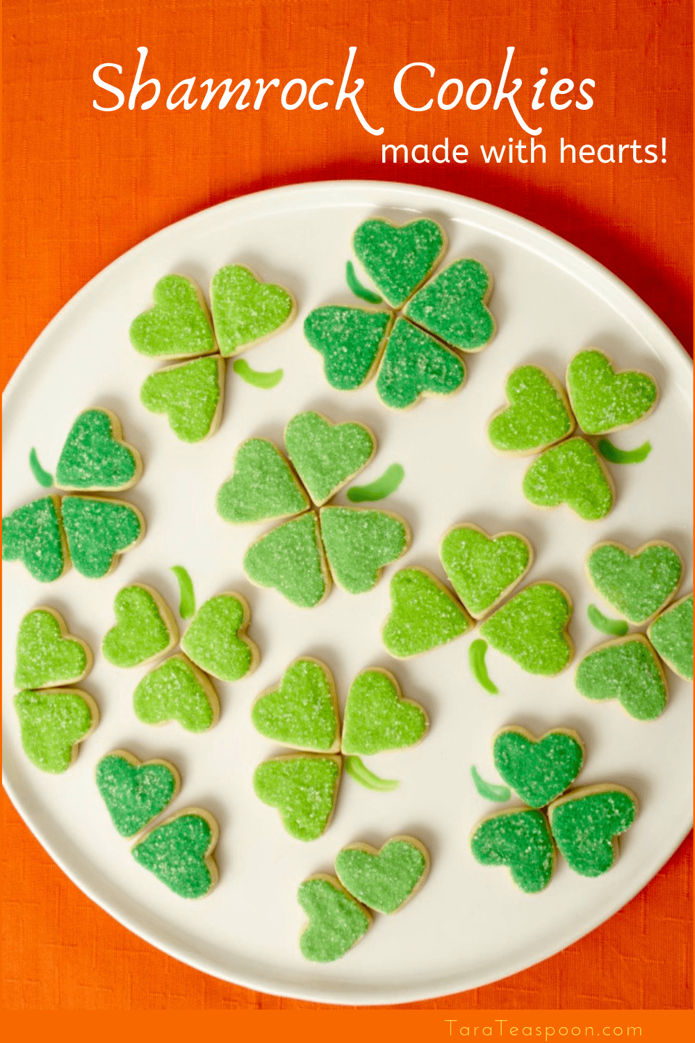 Make Shamrock Cookies for St. Patricks Day pin