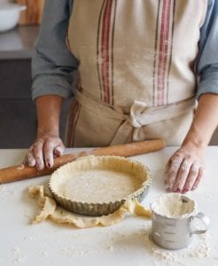 This homemade tart crust is so simple (and so good). The filling possibilities are endless for this easy-to-make, buttery, rich shell.