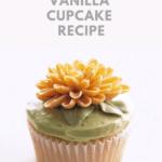 the best Vanilla Cupcake Recipe pin