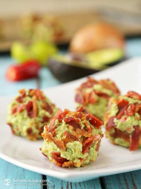 Bacon and Guacamole Fat Bombs