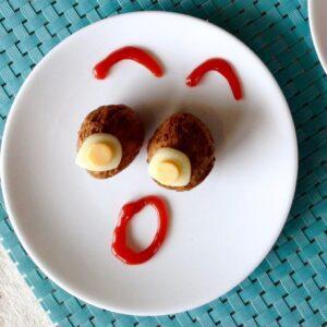 Funny Face Meatballs