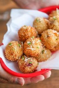 Bacon Mashed Potato Balls recipe image