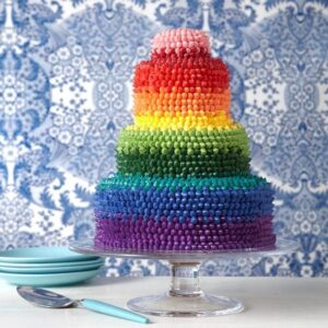 The most impressive rainbow cake feature recipe image