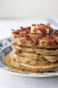 Maple Bacon Pancakes recipe image