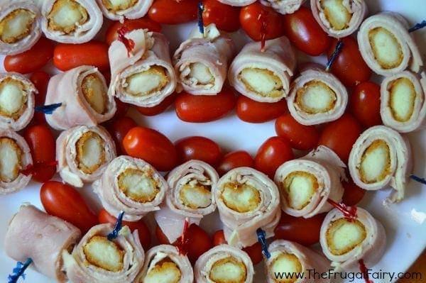 Mozzarella Stick Cordon Bleu Bites