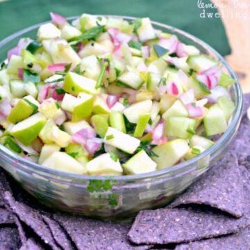 Lemon Tree Dwelling Green Apple Fruit Salsa recipe image