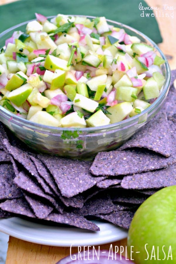 Green Apple Salsa