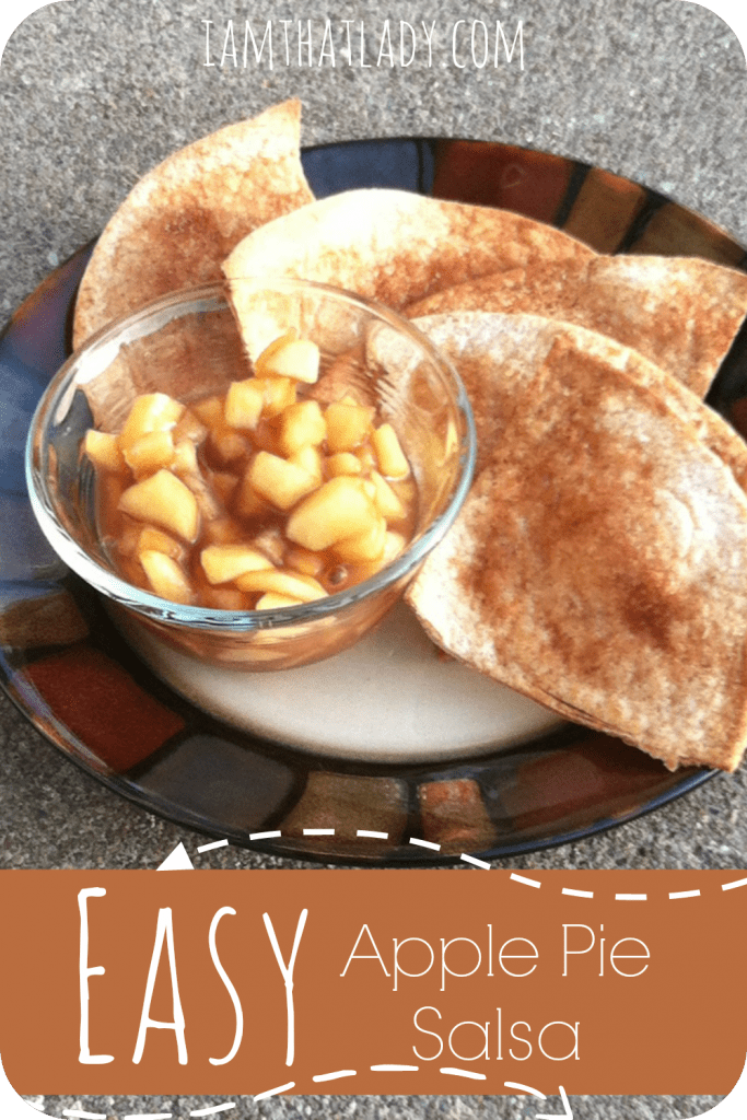 Apple Pie Fruit Salsa