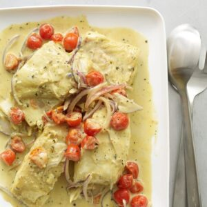 Coconut Curry Fish feature recipe image