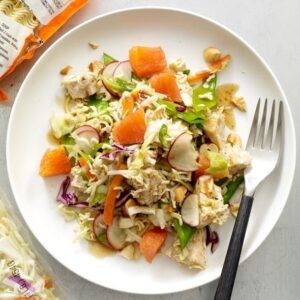 Crunchy Chicken Salad feature recipe image