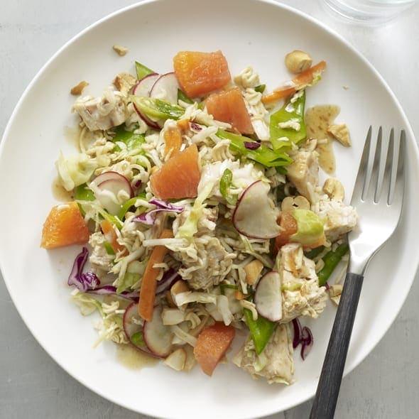 Crunchy Chicken Noodle Salad