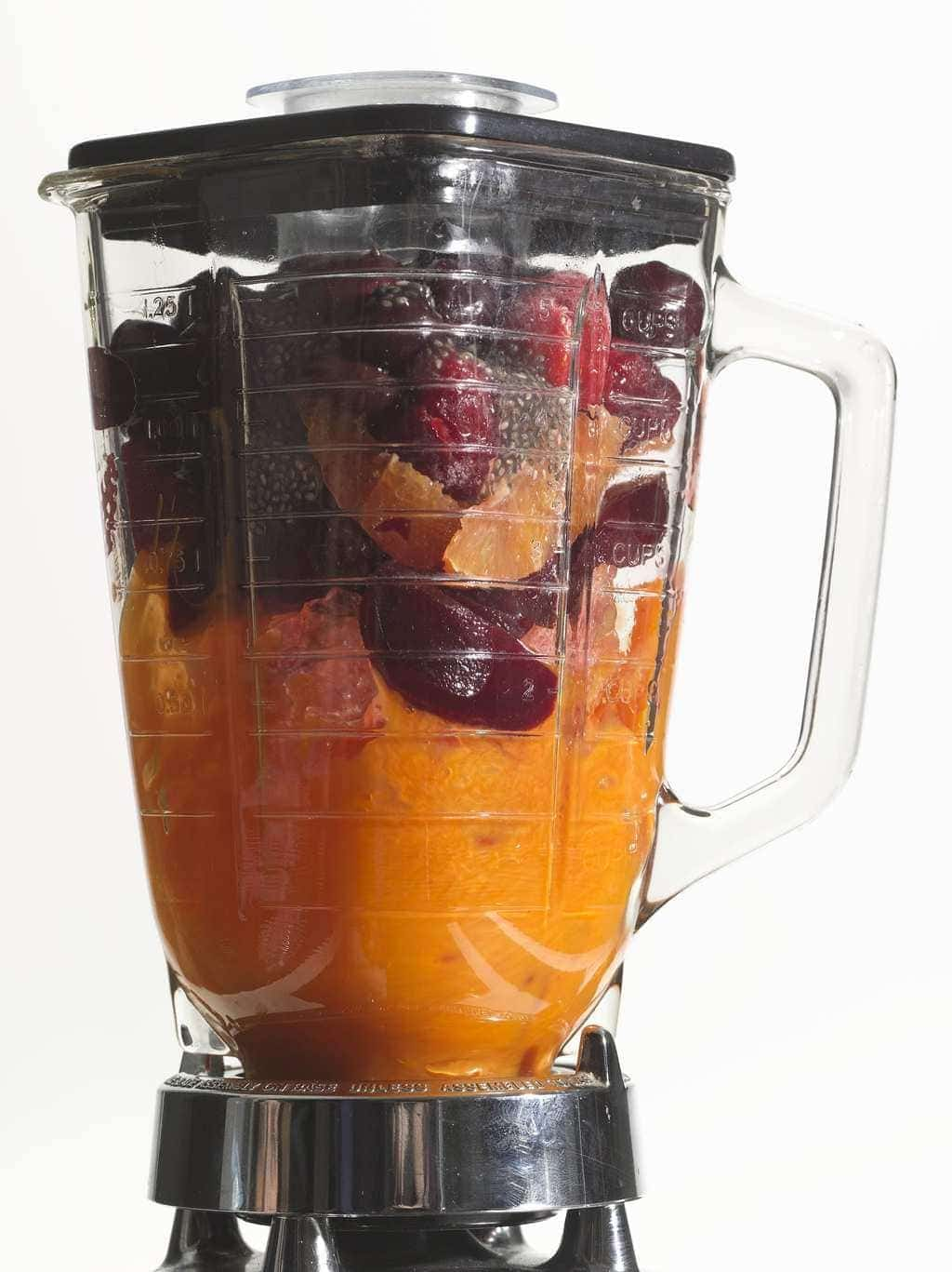 Healthy Smoothie in a blender