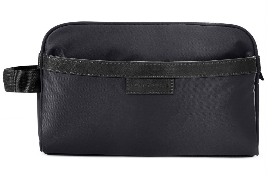 Perry Ellis Water-Resistant Nylon Travel Kit